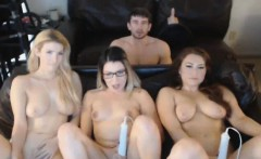 Hot Ladies Having a Horny Group Sex