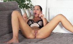 Naughty czech sweetie opens up her yummy vagina to the speci