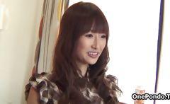 Cute Japanese teen girl strips