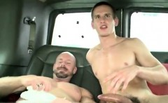 Fag sucks straight cock in bar and straight naked latino men