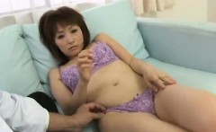 Miho Wakabayashi gets dildos