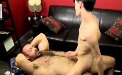 Old gay guy suck young twink Benjamin Riley has been pimped