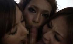 Three Japanese Race Queens