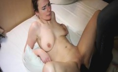 Brutally fisting and boot fucking her wrecked pussy
