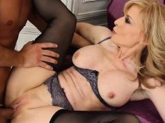 Blonde MILF In Sexy Lingerie Nina Hartley