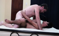 Filipino twink anal doggystyled by daddy