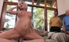 Housewife Lya Pink uses her mouth and pussy on cock