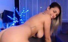 Beauty Busty Whore Entertains On Cam