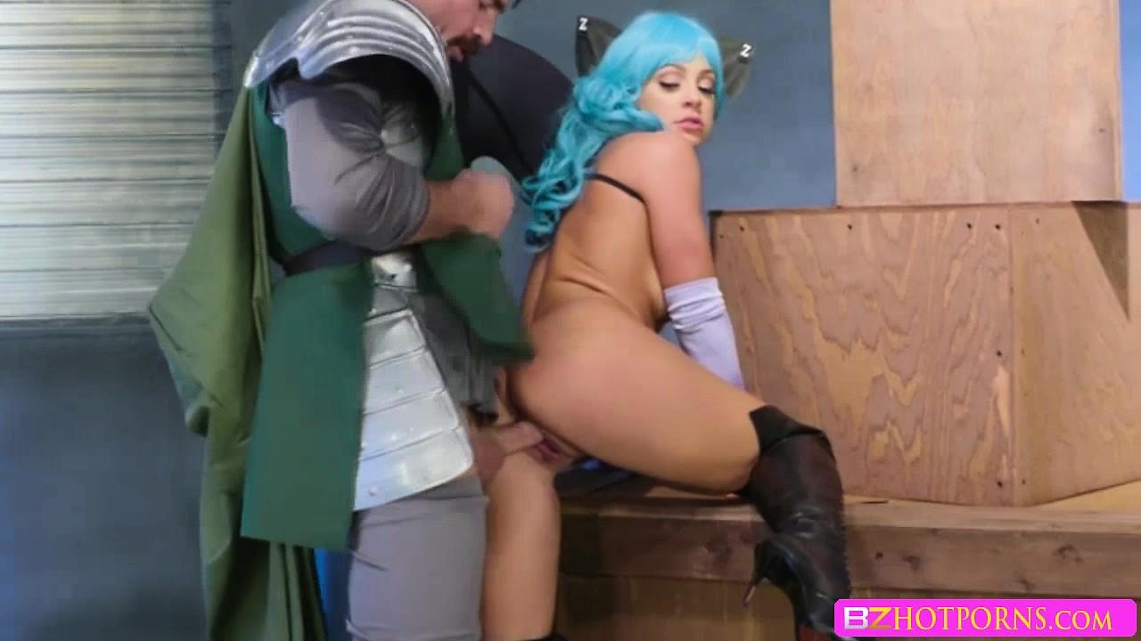 XXX parody fucking session with Abigail