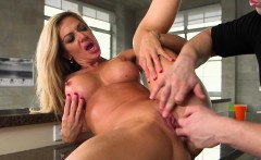 Bigtitted stepmom cockriding in secret sex