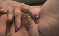 Hairy Big Boobs MILF Has Sex