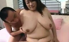 Big tit asian blowjob rimjob and titfuck