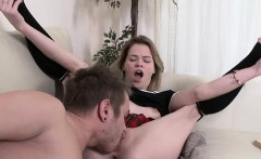 Blonde Hoe Crystal Maiden Gets Her Holes Poked