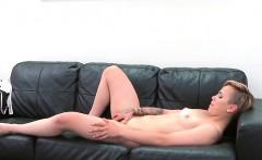 Blonde Hoe Megan Talerico Blows Hung Fake Agent