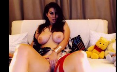 A Dirty Massive-Boobied Model In Homemade Porn Show