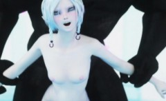 3D Ogre Bangs a Skinny Teen Elf!
