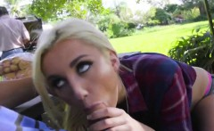 Jade fucked by her bf during picnic