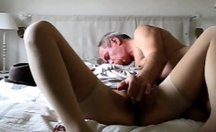 slut milf Carill suck on bed perfect whore hidden cam