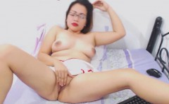 Chubby Latina Enjoys Stretching Pussy And Asshole