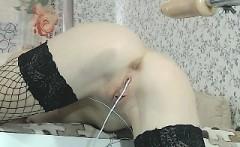 Anal sex machine masturbation