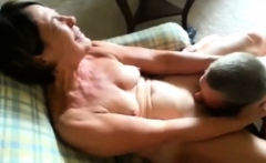 Naughty mature housewife loves to lick