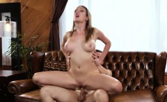 Slutty busty MILF pussyfucked by daughters BF
