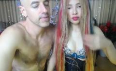 Amateur asian couple webcam fuck