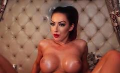 PUTA LOCURA Czech redhead milf and her amazing boobs