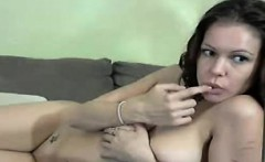 Amateur girlfriend home blowjob and fuck with cumshot