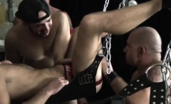 Fugly gay bears love drilling each others bums hardcore