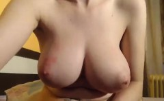Massive Boobs On Webcam