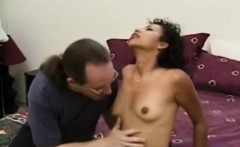 Real ebony plowed by older white guy