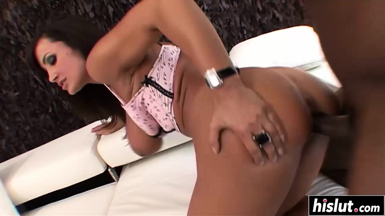 Lisa Ann enjoys a big black cock