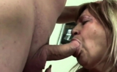 BBW mature bitch checking young penis with her filthy cunt