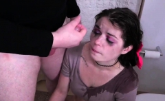 Extreme brutal gangbang and slap face rough Punish my 19 yea