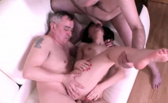 Natural schoolgirl is tempted and fucked by her older mentor