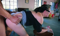 Brunette Alex Moore having great penis inside her cunt