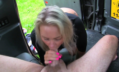 Fake Taxi Busty sexy blondes tight holes stretched