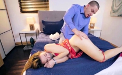 Teen No Gag He Still His Bosses Companion's Daughter, Set Up