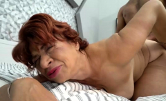 chesty granny got banged by a big dick
