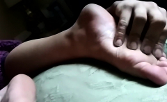 MILF Foot and Pantyhose Fetish Sex