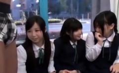 Cute Japanese teen foot fetish clip