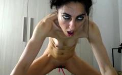 Horny Brunette Slut Solo Pussy Masturbation