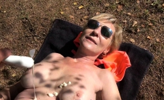 Mature Busty Woman Swapping BF