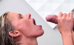 Vipissy - Piss fuck fun for hot blonde Claudia Macc