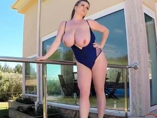 Natural tits pornstar sex and cumshot