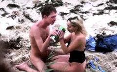 Fucking His Stemom on the Beach