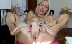 Hot big boobs on blonde milf pornstar