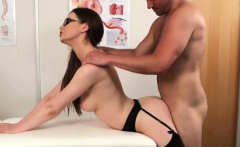 Wacky hottie gets cumshot on her face sucking all the charge
