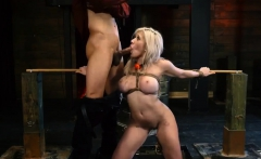 Bondage cock torment xxx Big-breasted blond beauty Cristi An